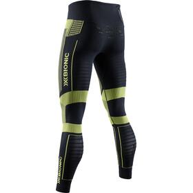 X-Bionic Effektor 4.0 Pantalones Running Hombre, opal black/effektor green